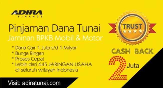 gadai bpkb motor di bank bri 2018   Adira Tunai - Pinjaman ...